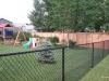 Black Vinyl Coated Chain Link Fencing