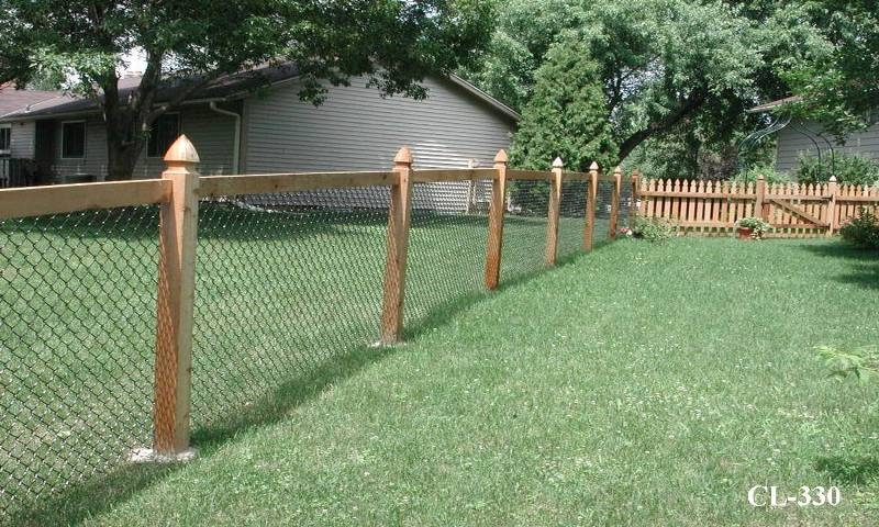 California Style Chain Link Fences - Midwest Fence
