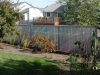 Galvanized Chain Link Fencing With Privacy Slats
