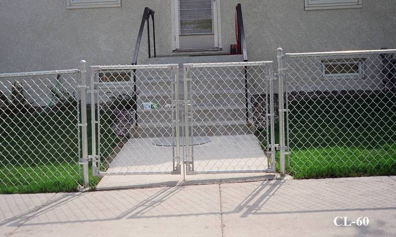 chain link fence double gate. Chain Link Fencing Gates Fence Double Gate N