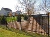 3 Rail Ornamental Iron Fence Offers Appeal