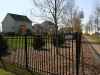 3 Rail Ornamental Iron Fence