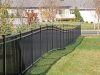Iron Fence Can Slope to Fit Any Yard