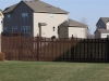 Cedar PIcket Flat Topped Fence
