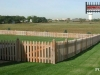 French Gothic Style Cedar Picket Fence