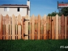 Alternating Board Cedar Picket Fence