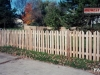 Wedgewood Style Cedar Picket Fence