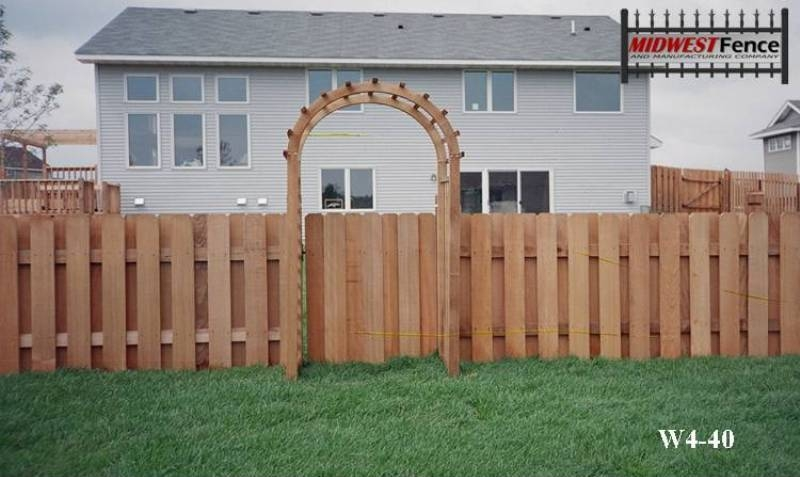 4 Foot High Wood Fencing http://www.midwestfence.com/wood-private-fences/4-foot-high-wood-private-fences/