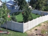 Alternating Board Privacy Fence Around Property