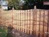 Alternating Board Cedar Privacy Fence