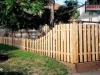 Adaptable Alternating Board Privacy Fence
