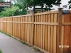 Batten Privacy Fence Made Of Cedar