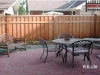 Batten Cedar Fence Gives Privacy