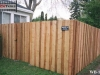 Batten Wood Fence Offers Privacy