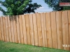 Batten Cedar Wood Privacy Fence