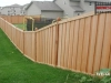 Batten Wood Privacy Fence
