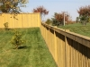 Alternating Wood and King Style Fence