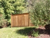 King Style Wood Privacy Fence With Caps