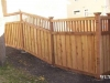 Lattice Top Wood Privacy Fence Adaptable For Any Yard