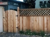 Lattice Top Privacy Fence Adds Curb Appeal