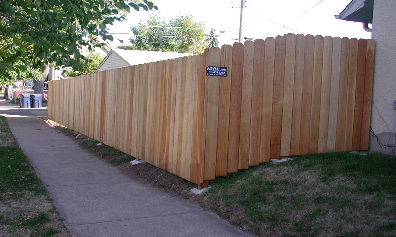 Solid Board Privacy Fence