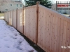 Tongue and Groove Cedar Privacy Fence