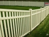 PVC or Vinyl Picket Fence