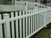 Vinyl Picket Fence With Caps