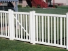 PVC Fence With Gate