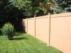 Vinyl Privacy Fence In Natural Color