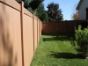 Sloped Vinyl Privacy Fence