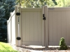Vinyl Privacy Fence With Gate