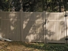 This Vinyl Privacy Fence Offers a Semi Private Area