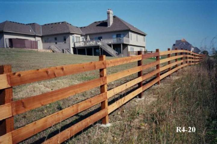 Rail and Split Rail Fence