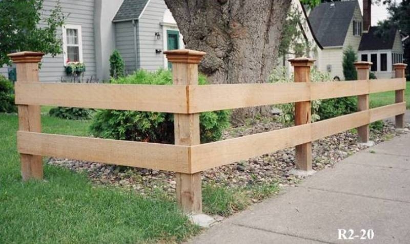 Rail and split fences midwest fence