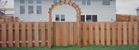 4 Foot High Wood Fencing http://www.midwestfence.com/wood-private-fences/