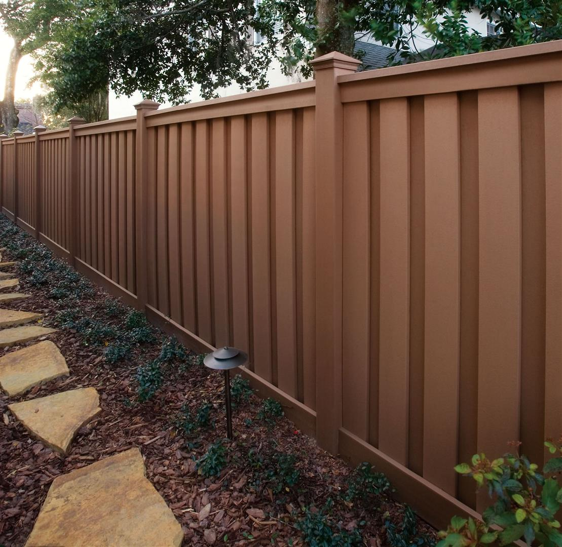 Trex composite fencing midwest fence trex saddle fence composite midwest baanklon Gallery
