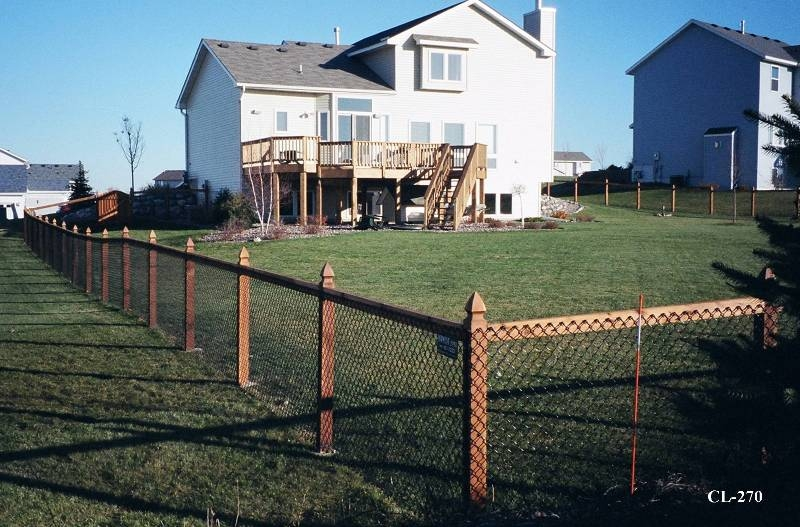 California Style Chain Link Fences Midwest Fence