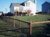 California Style Chain Link Fencing