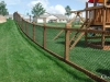 California Style Chain Link Fence