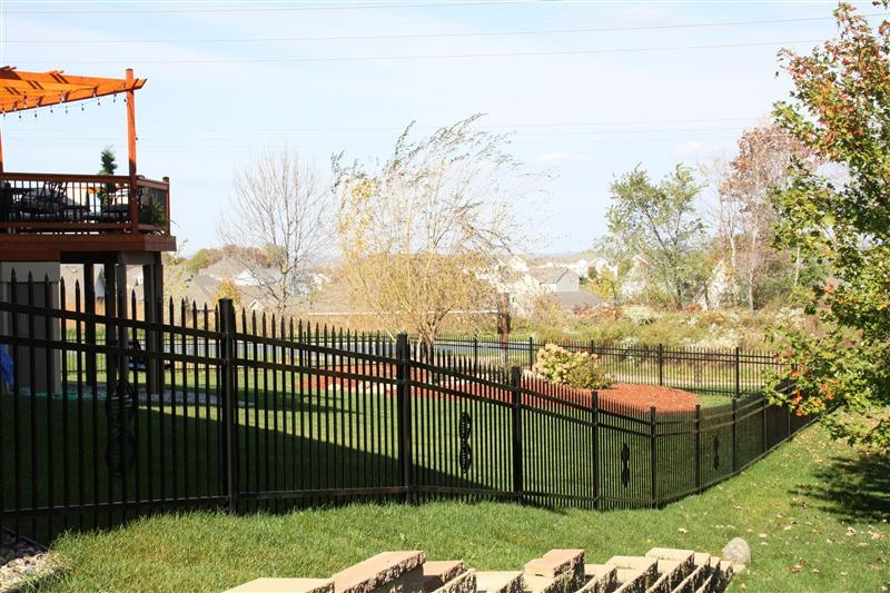 3 Rail Ornamental Iron Fences Midwest Fence
