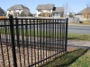 Iron Fence Offers Curb Appeal