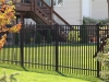 3 Rail Iron Fence