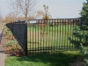 3 Rail Ornamental Fence Stylish