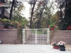Ornamental Iron Fence Gate