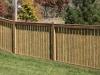 Rail Cedar Picket Fence