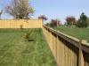 Closed Top Cedar Picket Fence