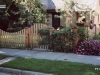 Scalloped Cedar PIcket Flat Topped Fence