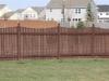 Scalloped Cedar Rail Picket Fence