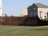 Scalloped Flat Topped Fence